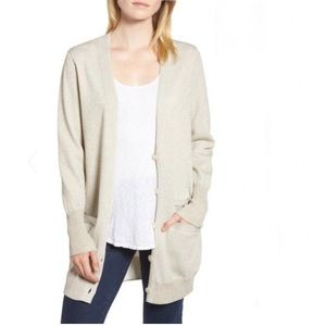 NWT J Crew Collection Sparkle Double Knit Cardigan